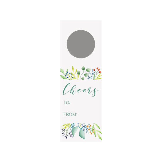 Foliage Bottle & Wine Tag