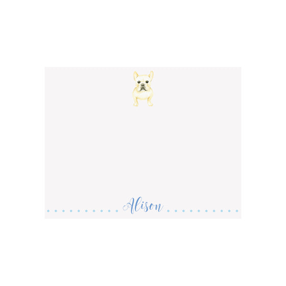 Frenchie Stationery