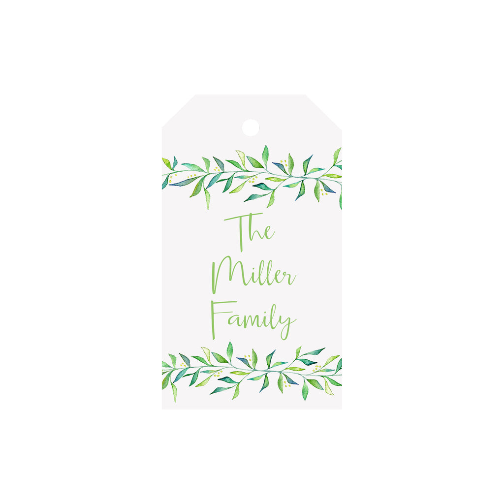 Freshly Cut Personalized Luggage Gift Tags