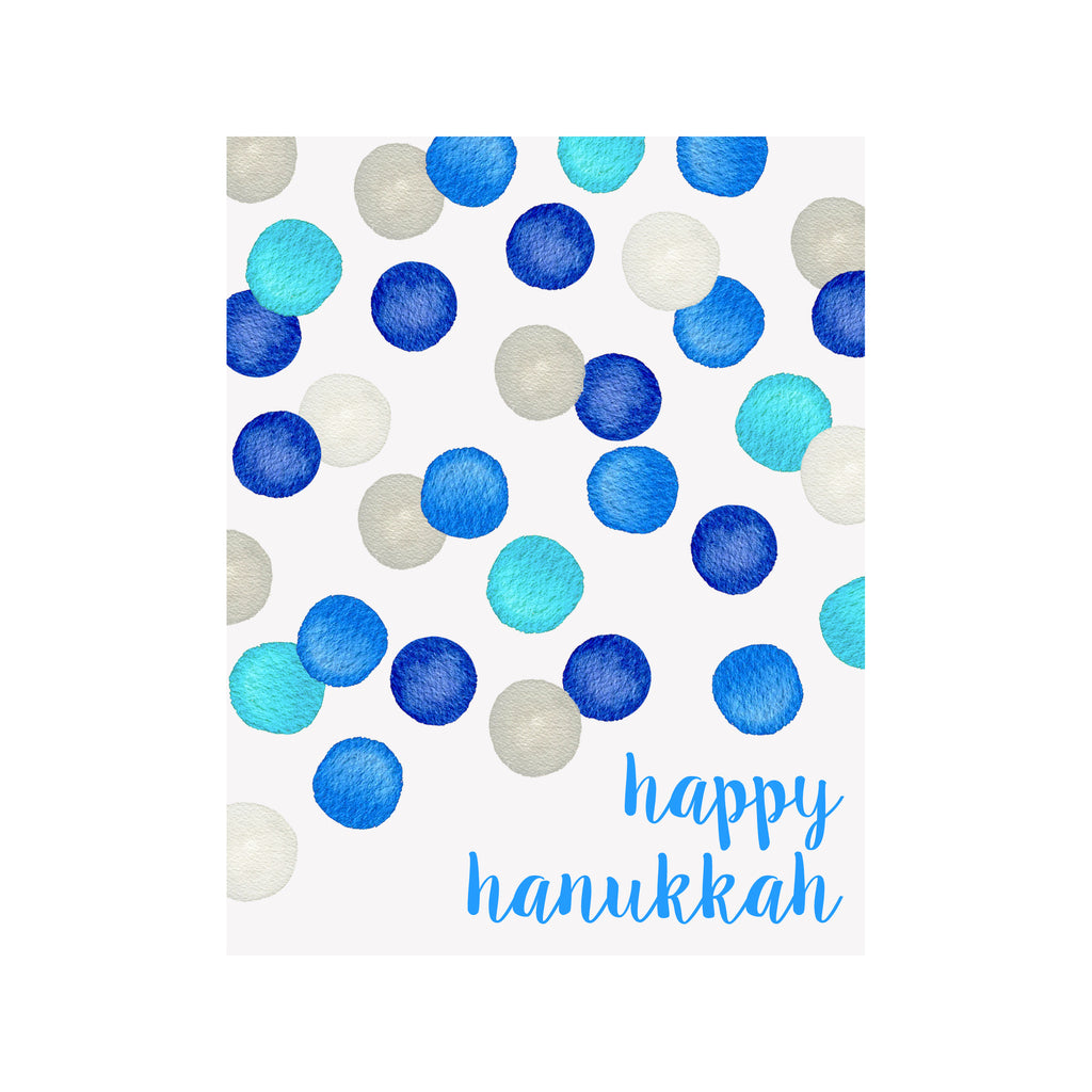 Hanukkah Dots Card