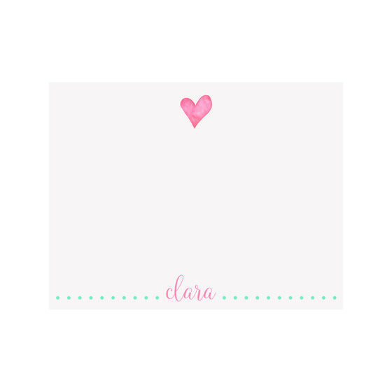 Heart Stationery