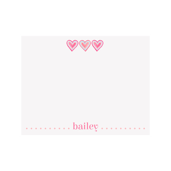 Hearts Stationery