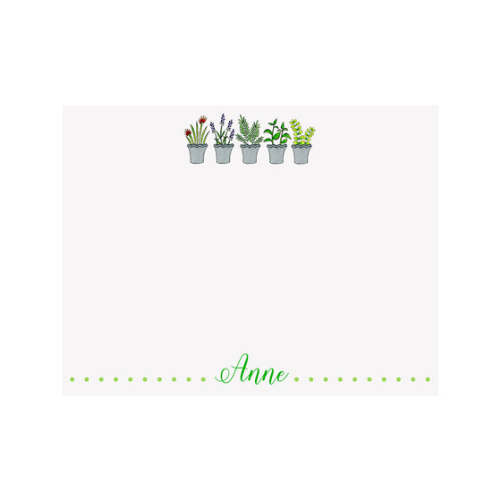 Herb Stationery