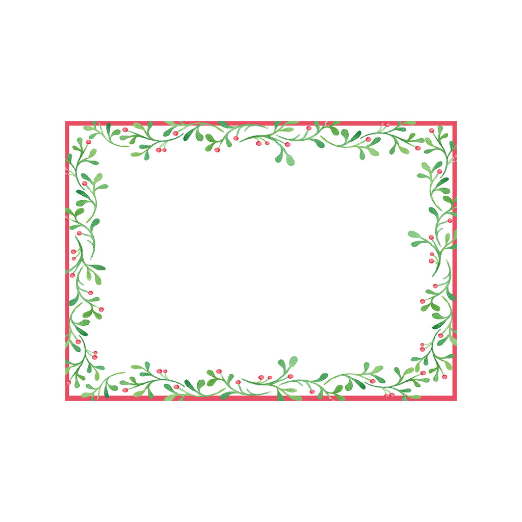 Holly Berries Holiday Photo Cards