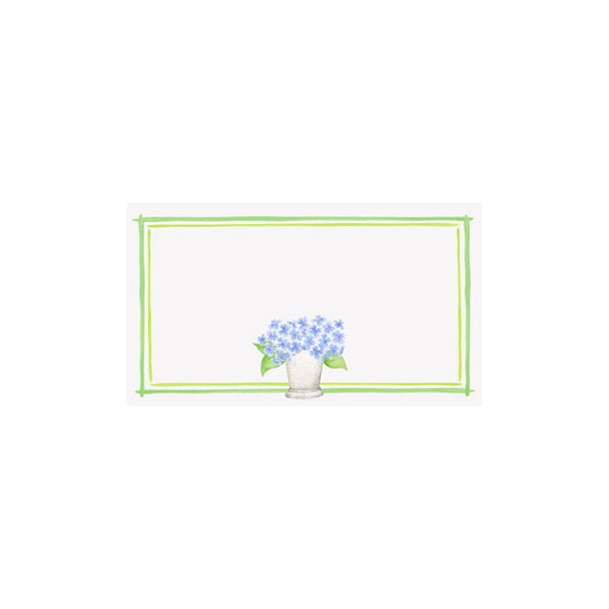 Hydrangea Julep Cup Place Card