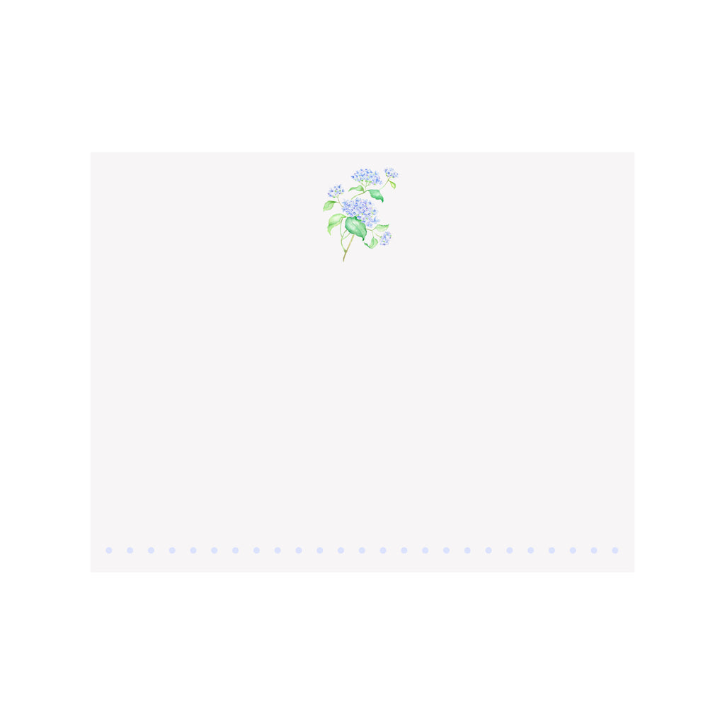 Hydrangea Branch Note Card