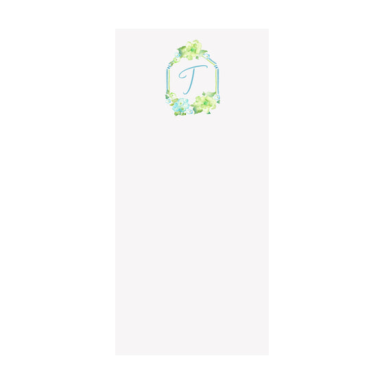 Hydrangeas Notepad- Personalized