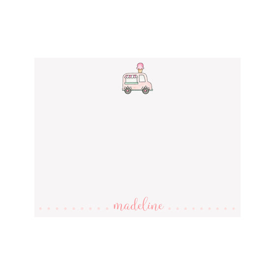 Ice Cream Truck Stationery