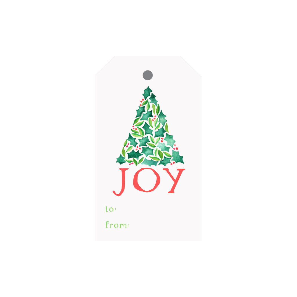 JOY Tree Luggage Gift Tags