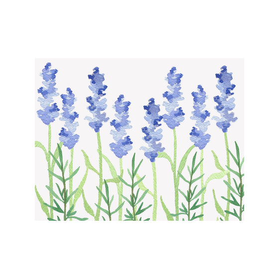 Lavender Note Cards