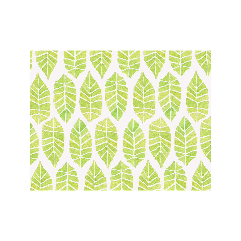 Leaves Note Cards
