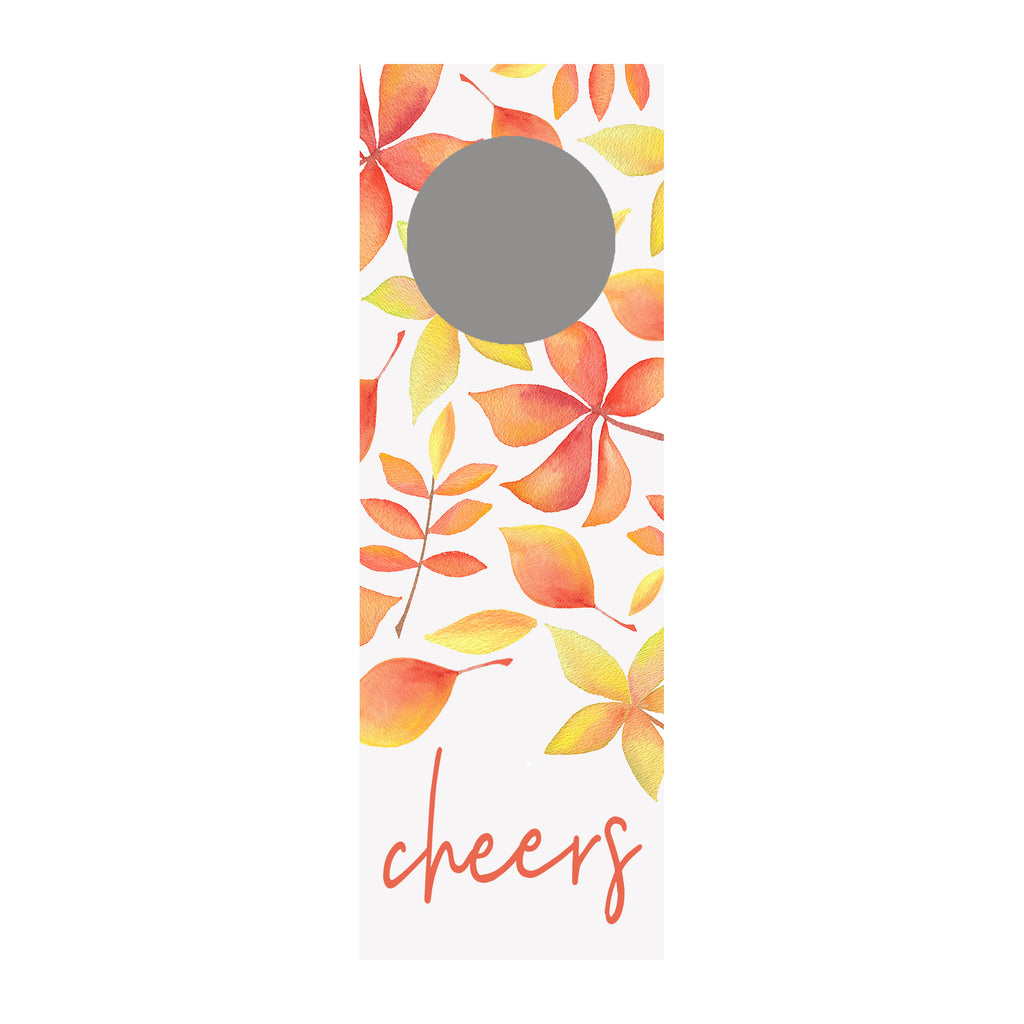 Leaves Wine Tag