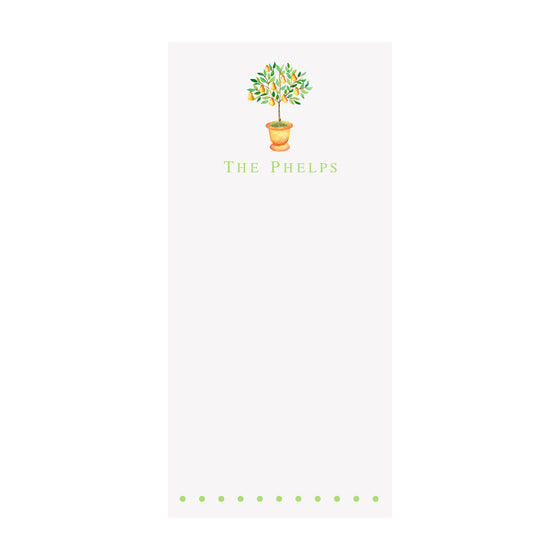 Little Pear Tree Notepad- Personalized