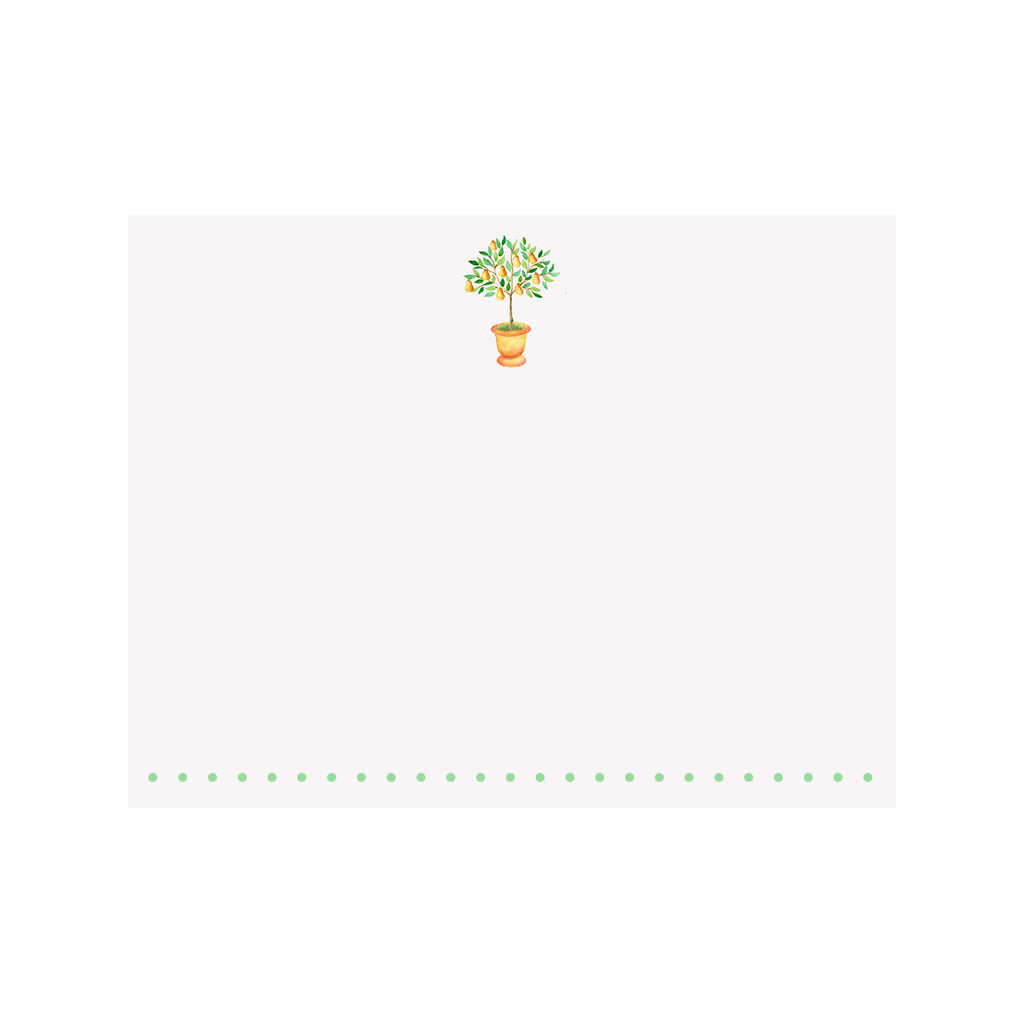 Little Pear Tree Note Card