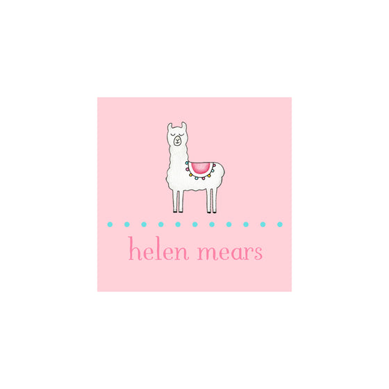 Llama Gift Tags & Stickers