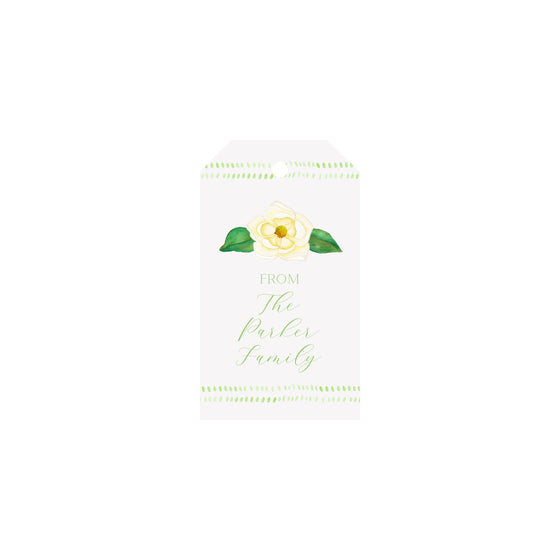 Magnolia Personalized Luggage Gift Tags