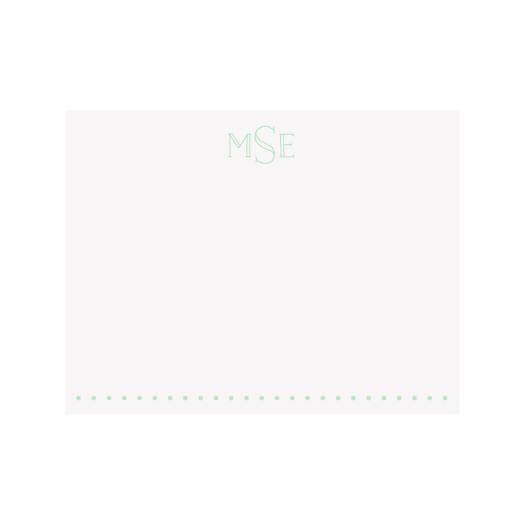 Monogram Stationery- Block