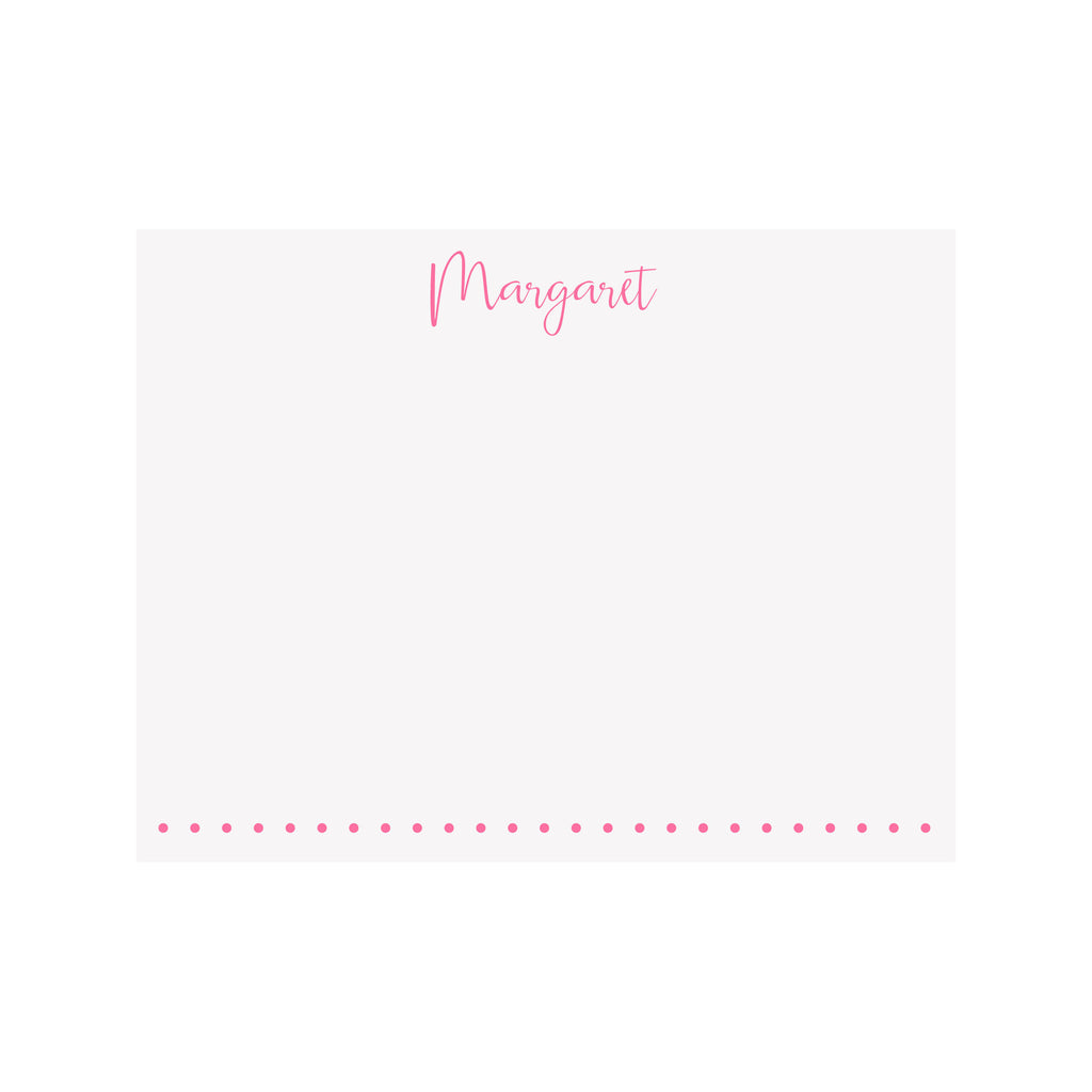 Personalized Name Stationery- Script