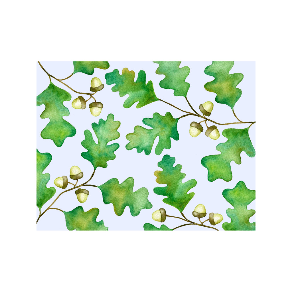 Oak Leaf Note Cards