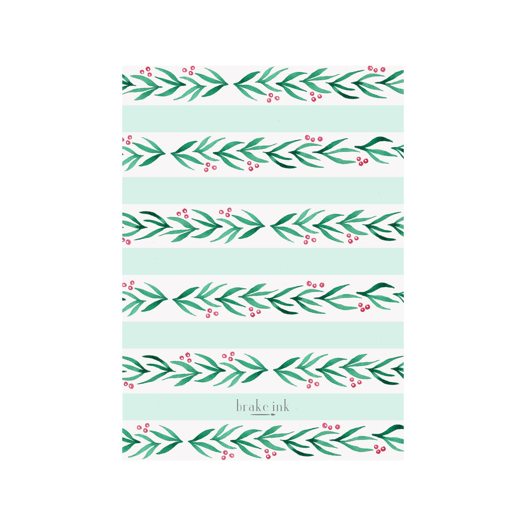 Pine Holiday Photo Cards