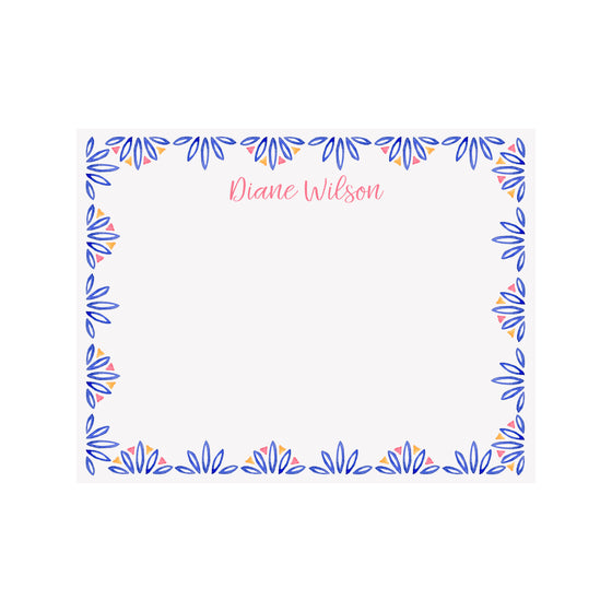 Palmetto Stationery- Blue