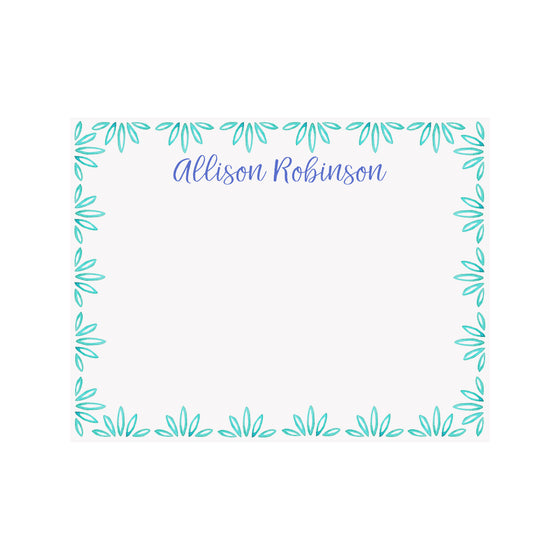 Palmetto Stationery- Teal