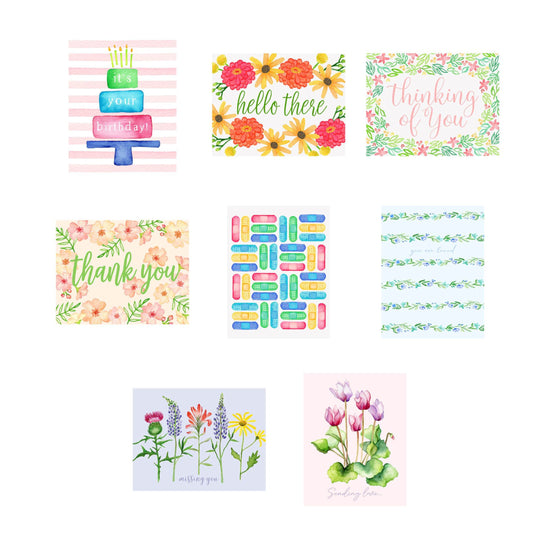Pen Pal Greeting Card Bundle
