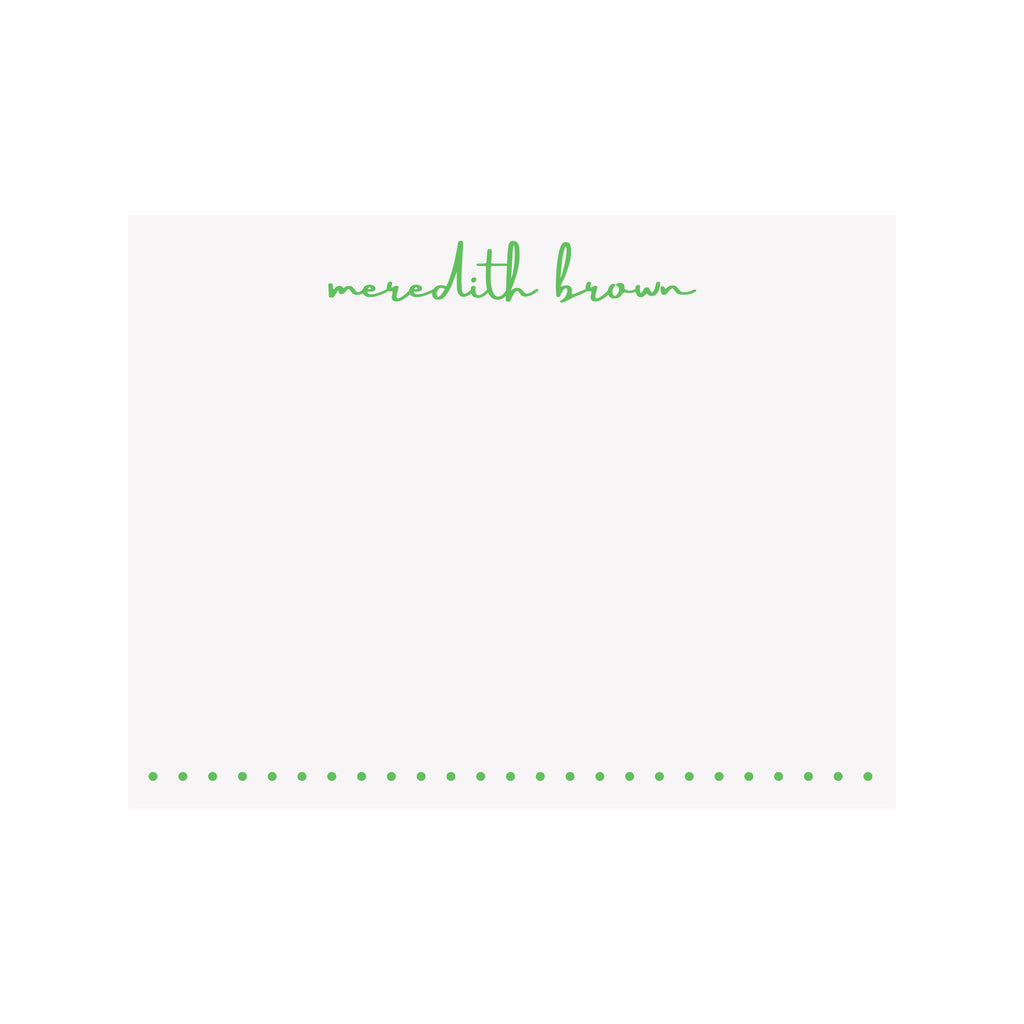 Personalized Name Stationery- Brush Script