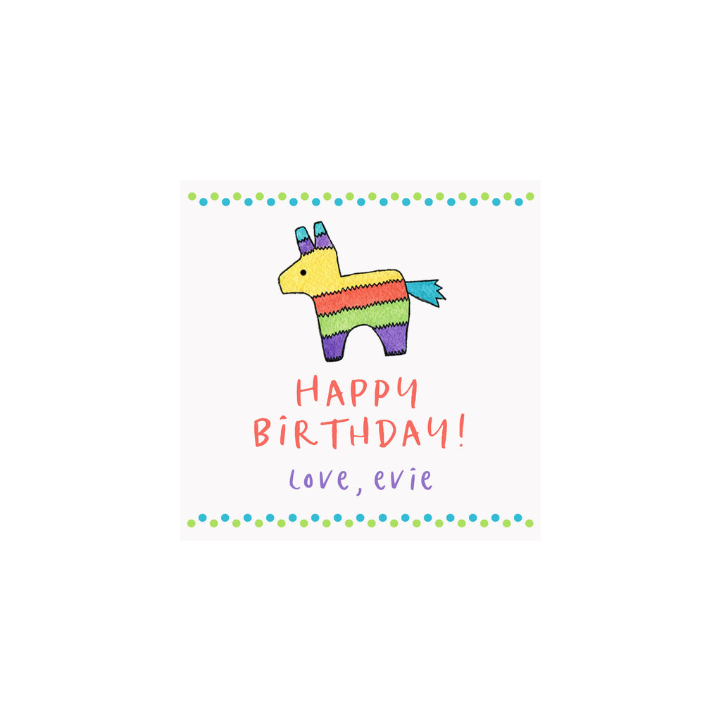 Pinata Gift Tags & Stickers