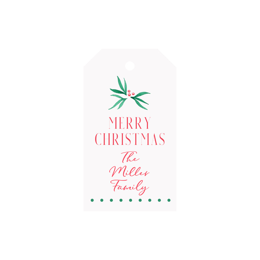 Pine Personalized Luggage Gift Tags