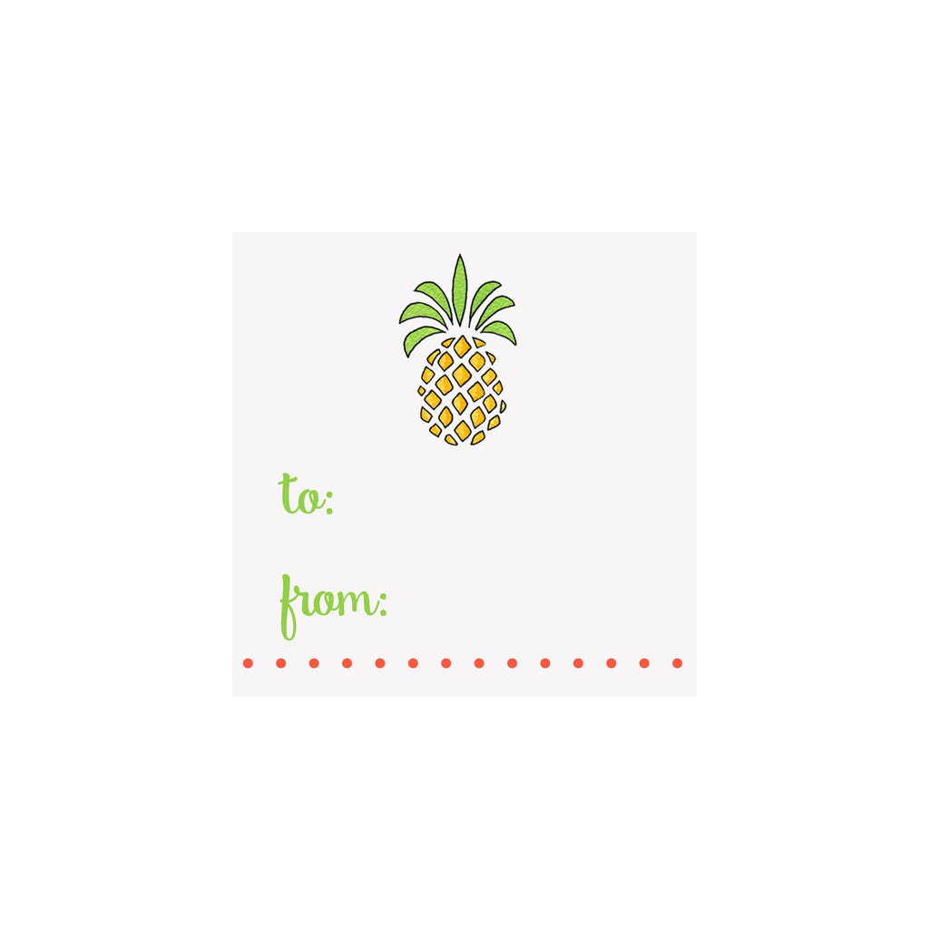 Pineapple Gift Tag