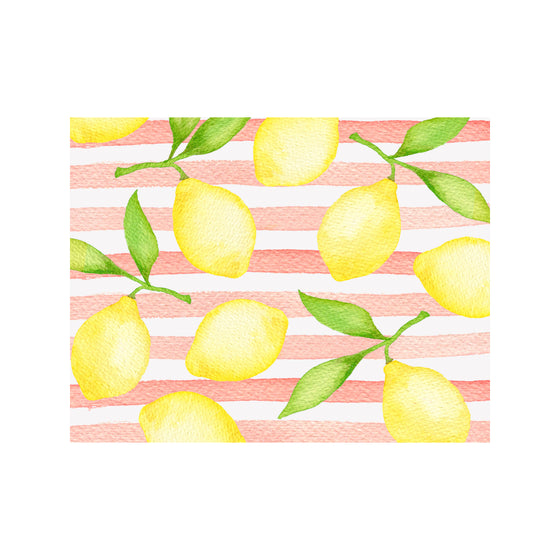 Pink Lemonade Note Cards