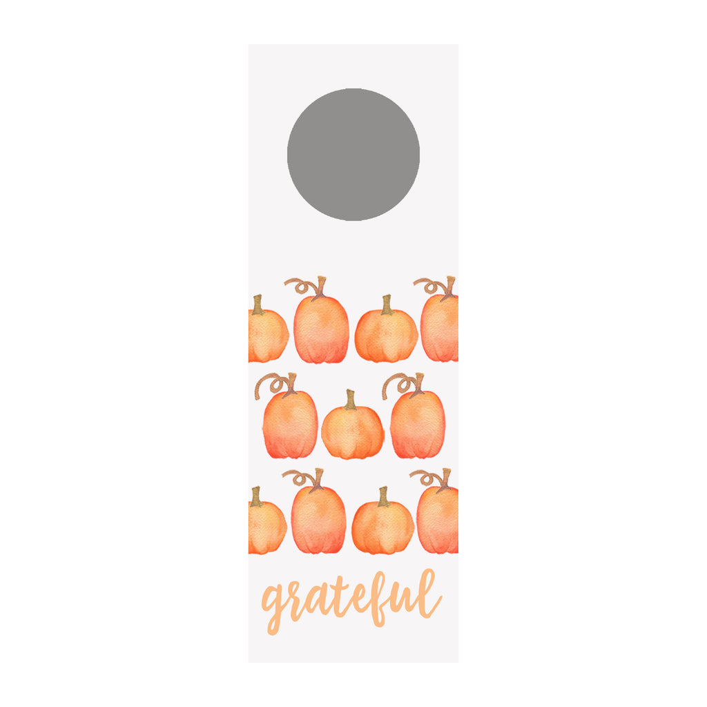 Pumpkins Wine Tag