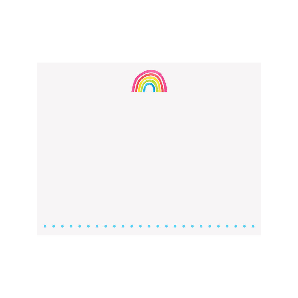Rainbow Note Card