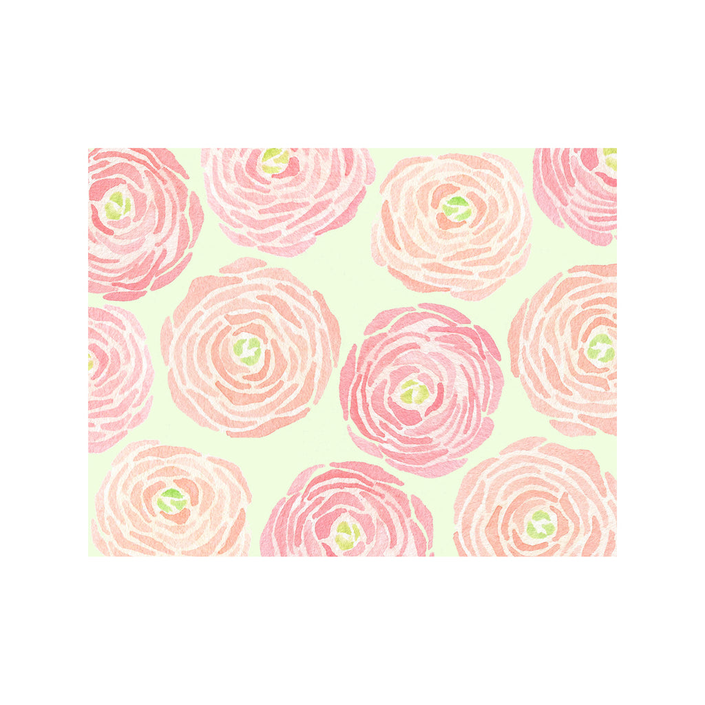 Ranunculus Note Cards