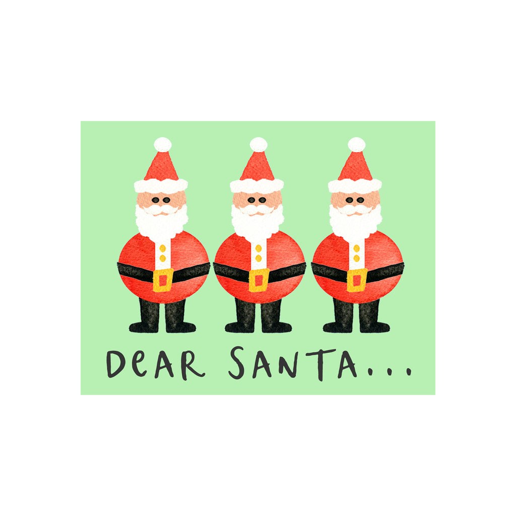 Santa Holiday Card