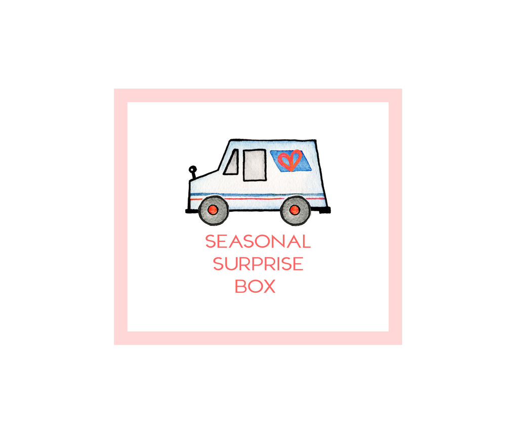 Seasonal Surprise Stationery Box