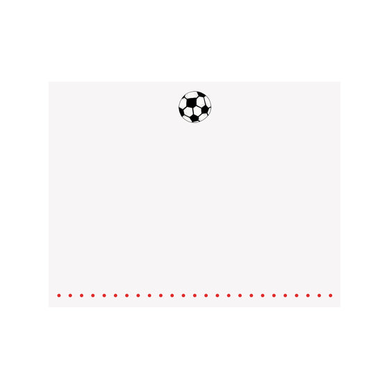 Soccer Note Card