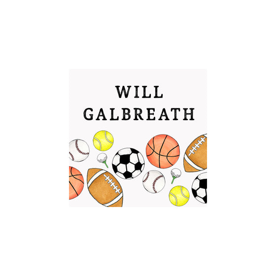 Sports Gift Tags & Stickers