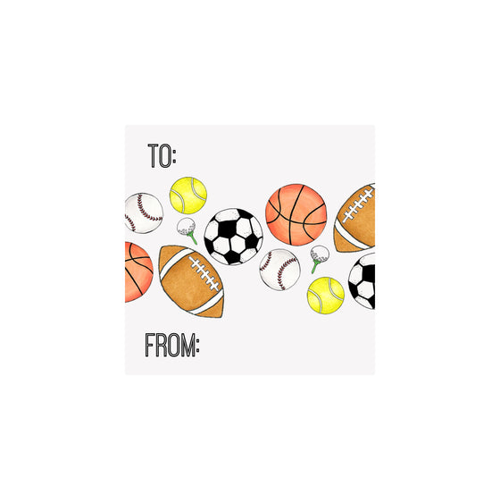 Sports Gift Tag