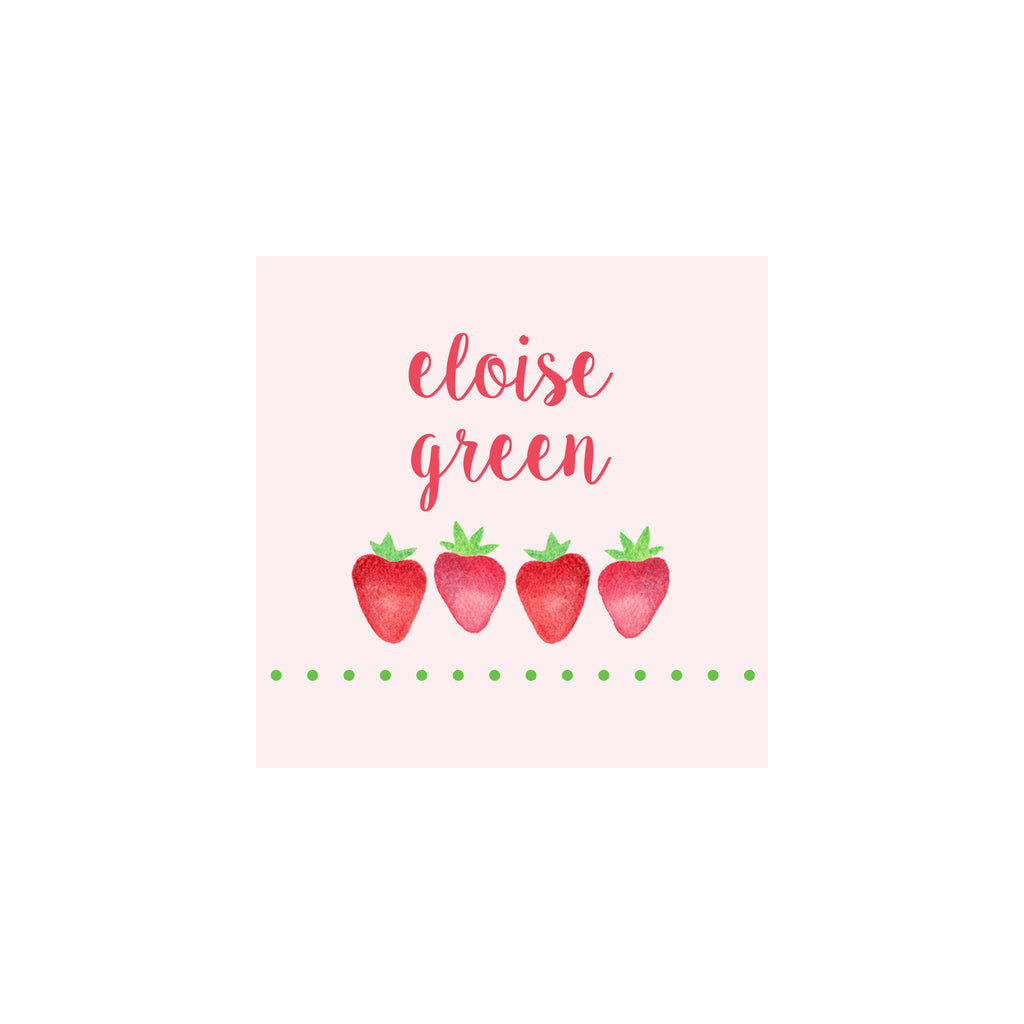 Strawberry Gift Tags & Stickers