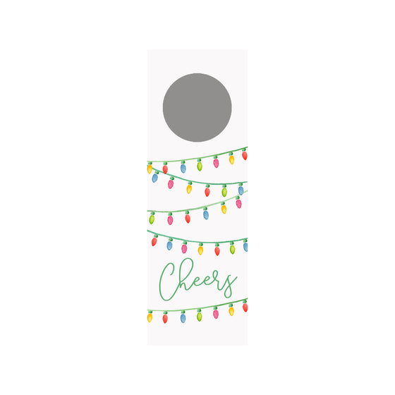 String Lights Wine Tag