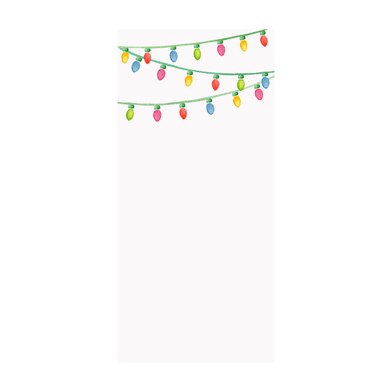 String Lights Notepad