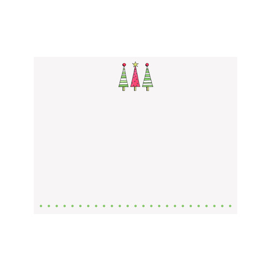 Striped Trees Note Card