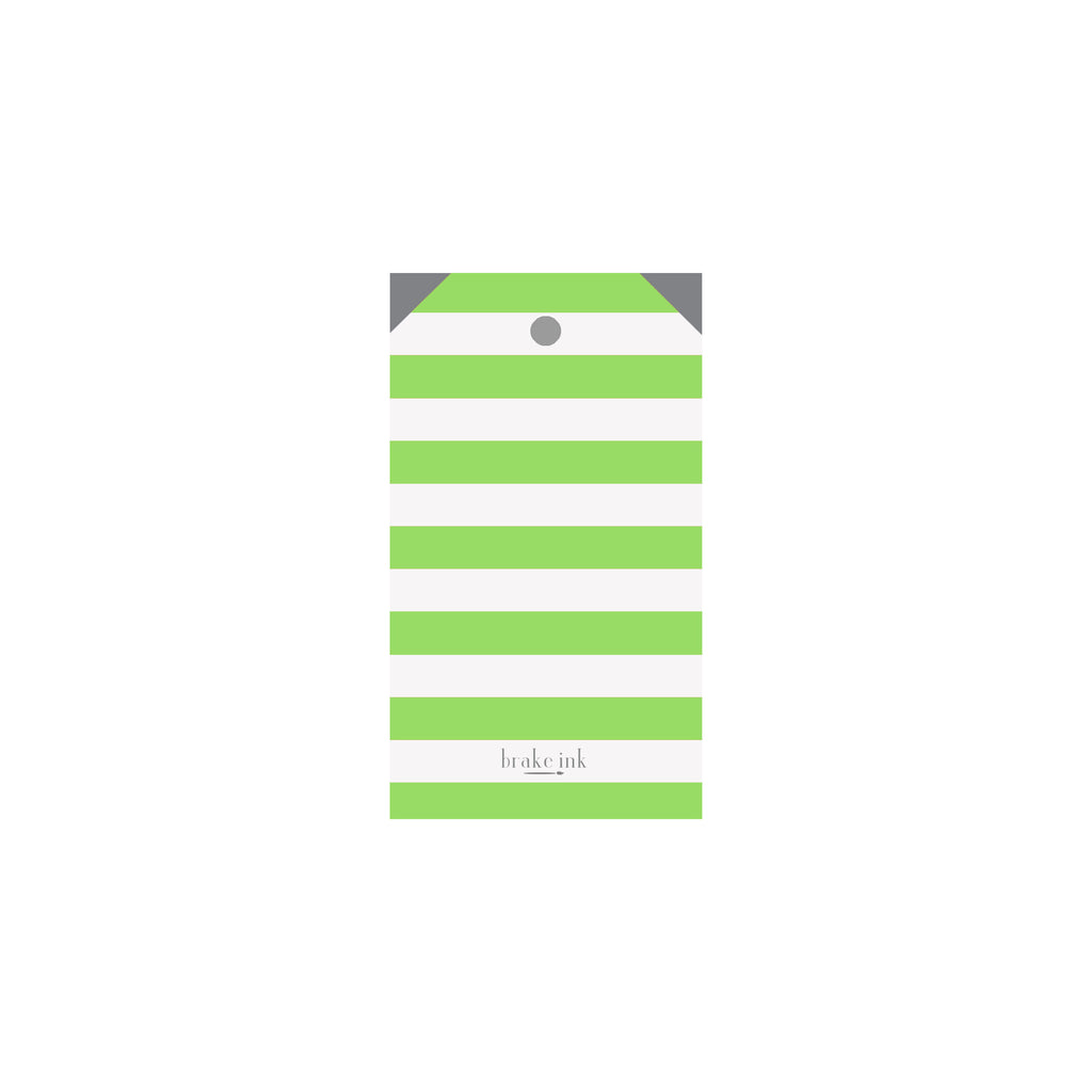 Striped Trees Luggage Gift Tags