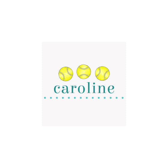 Tennis Gift Tags & Stickers