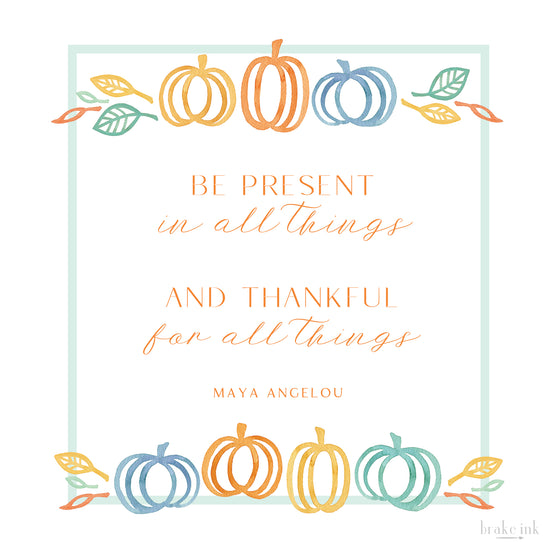Free Printable Thanksgiving Gratitude Quote