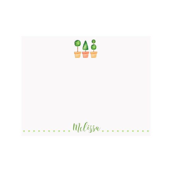 Topiaries Stationery