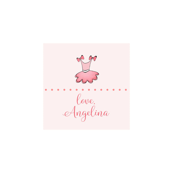 Tutu Gift Tags & Stickers