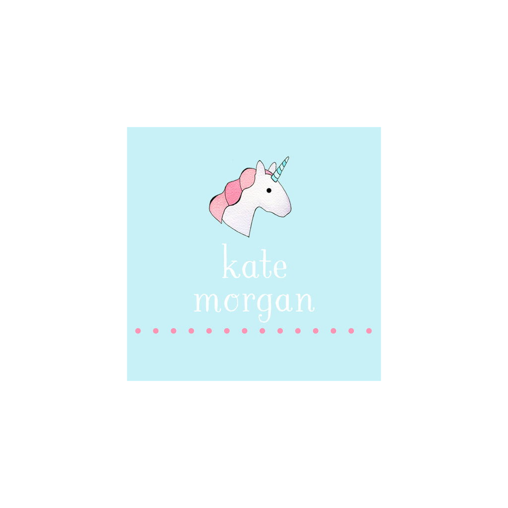 Unicorn Gift Tags & Stickers